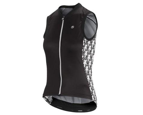 Assos Women's UMA GT Sleeveless Jersey (Black Series) (S)