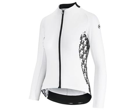 Assos Women's UMA GT Long Sleeve Summer Jersey (Holy White) (S)
