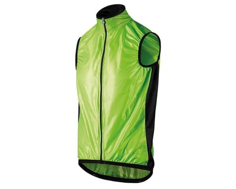 Assos Men's Mille GT Wind Vest (Visibility Green) (XL)
