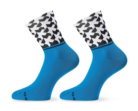 Assos Monogram Socks Evo8 (Calypso Blue) (S)