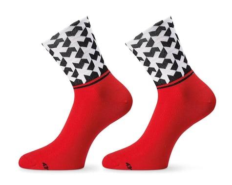 Assos Monogram Socks Evo8 (National Red) (S)