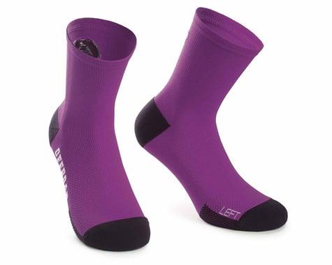 Assos XC Socks (Cactus Purple)