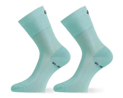 Assos Assosoires GT Socks (Aqua Green) (M)