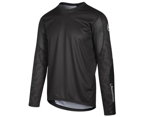 Assos Men's Trail Long Sleeve Jersey (Black Series) (L)