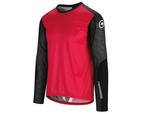 Assos Men's Trail Long Sleeve Jersey (Rodo Red) (S)