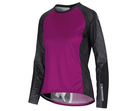 Assos Women's Trail Long Sleeve Jersey (Cactus Purple) (XL)