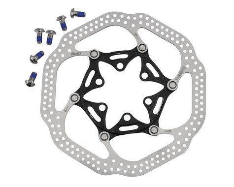 Avid Rotor Hsx Heat-Shedding 140Mm Black - Includes Ti Rotor Bolts