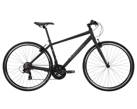 Batch Bicycles 700c Fitness Bike (Matte Pitch Black) (S)