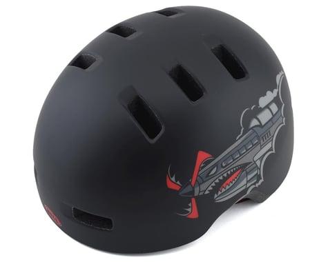 Bell Lil Ripper Helmet (Matte Black Bomber) (Universal Toddler)