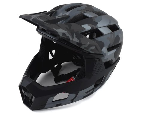 Bell Super Air R MIPS Helmet (Black Camo) (S)