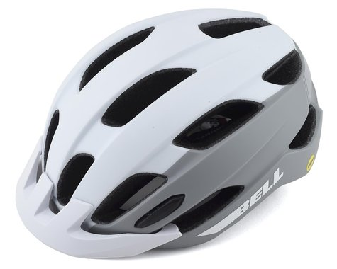 Bell Trace MIPS Helmet (Matte White/Silver) (Universal Adult)