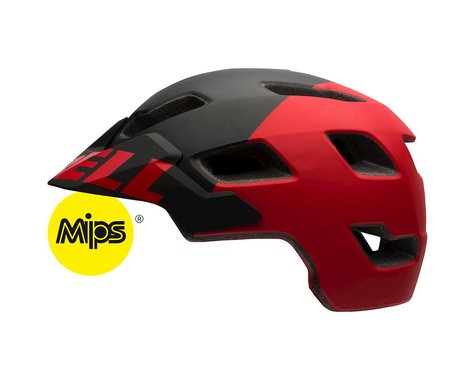 Bell Stoker MIPS Equipped MTB Helmet 2017 (Matte Black/Red) (Large)