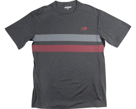 Bellwether Power Line Men's Short Sleeve Jersey: Charcoal MD