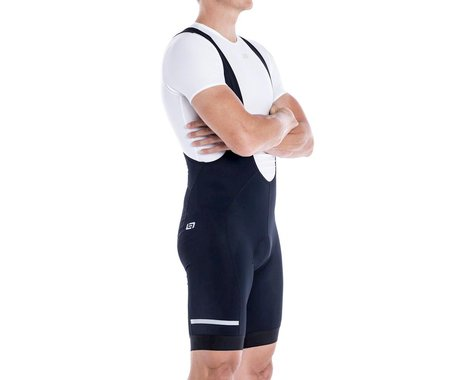 Bellwether Thermaldress Men's Bib Short w/ Chamois (Black) (M)