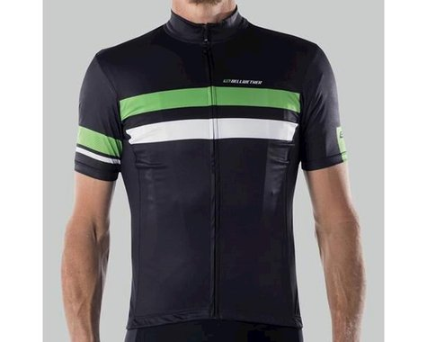 Bellwether Edge Cycling Jersey (Black/Citrus/White)