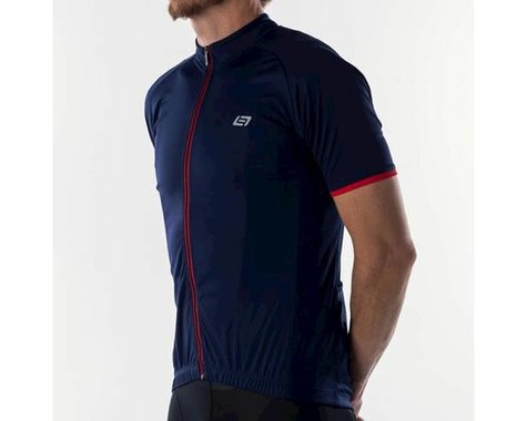 Bellwether Classic Criterium Pro Cycling Jersey (Navy/Red)