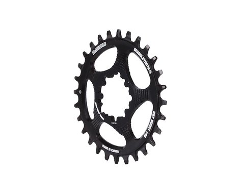 Blackspire Snaggletooth GXP Boost DM NW Chainring (Black) (3mm Offset (Boost)) (28T)