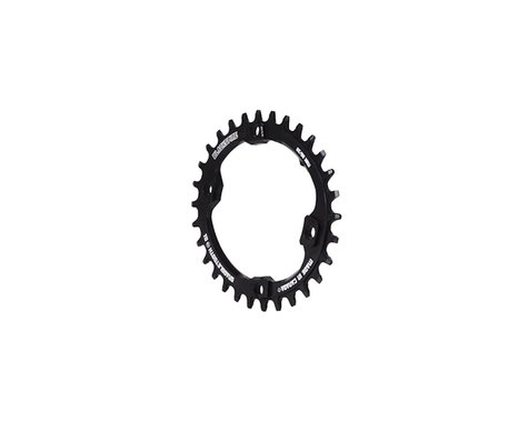 Blackspire Snaggletooth Oval NW Chainring (Black) (XT) (96mm BCD)
