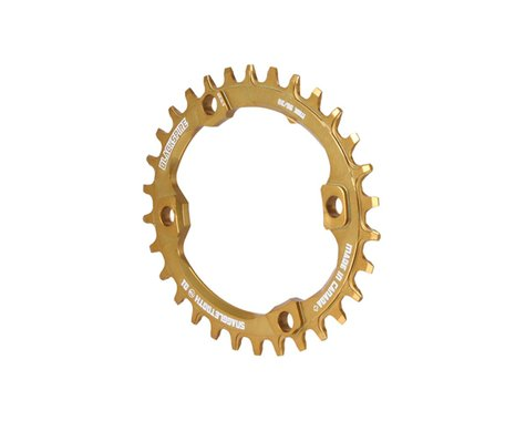 Blackspire Snaggletooth Oval NW Chainring (Gold) (XT) (96BCD)