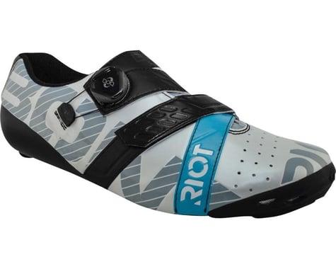 Bont Riot Road+ BOA Cycling Shoe (Pearl White/Black) (43)
