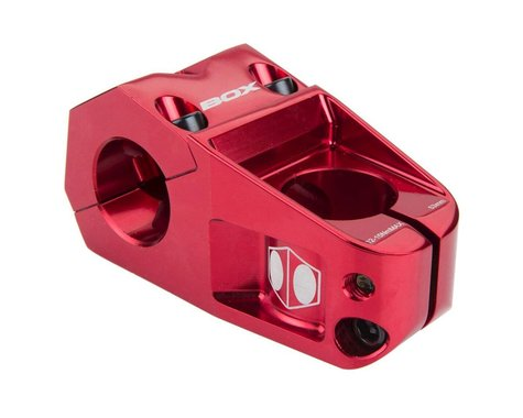 """Box Delta Top Load Stem (Red) (1-1/8"""") (31.8mm Clamp)"""