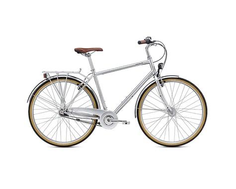 Breezer Downtown 7+ City Bike -- 2017 (Navy)