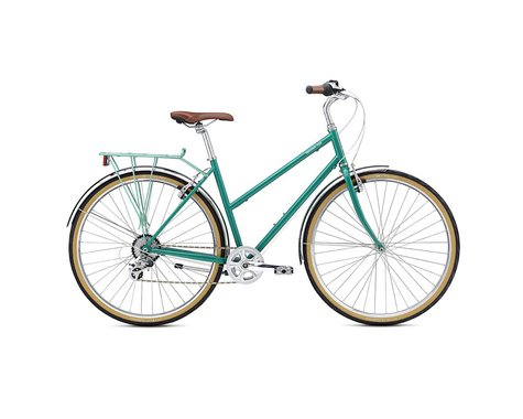 Breezer Downtown EX ST Women's Commuter Bike - 2017 (Grey)