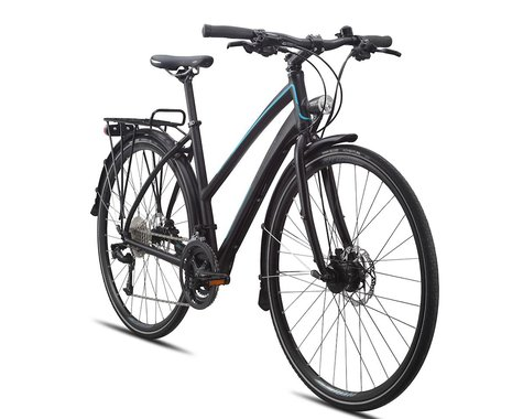 Breezer Greenway Elite Women's Comfort Bike - 2015 (Black/Blue)