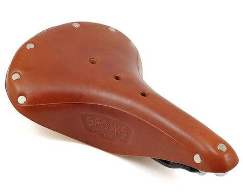 Brooks B17 Saddle (Honey) (Black Steel Rails) (170mm)