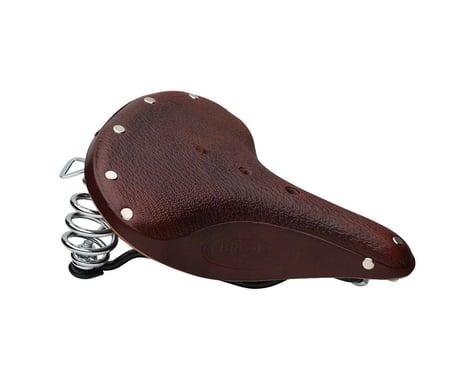 Brooks B67 S Women's Saddle (Brown) (Black Steel Rails) (210mm)