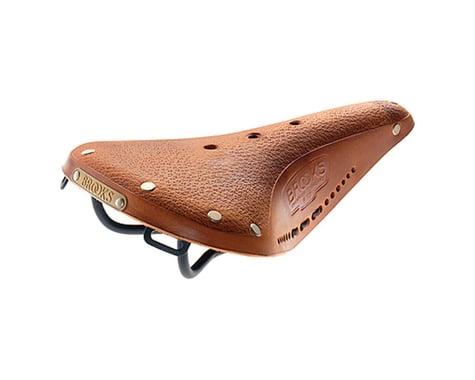 Brooks B17 Softened Saddle (Tan) (Black Steel Rails) (170mm)