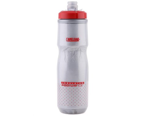 Camelbak Podium Ice Insulated Water Bottle (Fiery Red) (21oz)