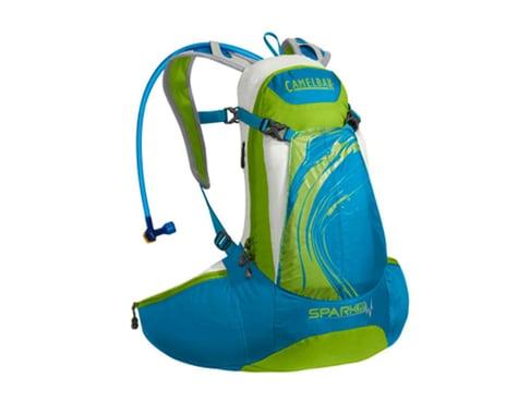 Camelbak Spark 10 LR 70oz Hydration Pack (Blue Jewel Chartreuse)