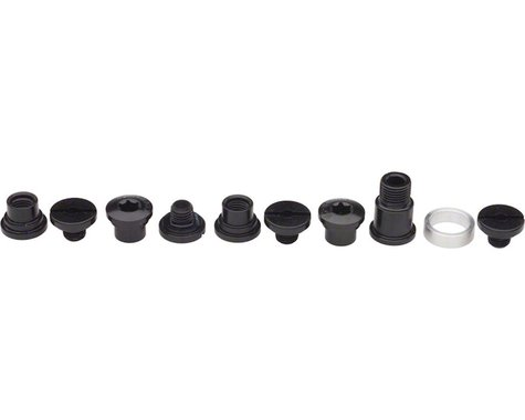Campagnolo Power-Torque Chainring Bolt Kit (Black)