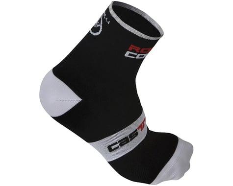 Castelli Rosso Corsa 9 Socks (Black)