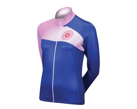 Castelli Women's Incanto Long Sleeve Jersey (Blue)