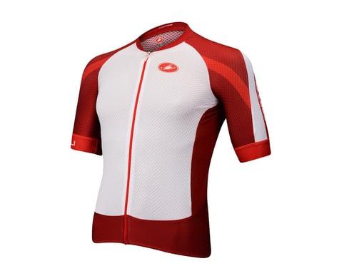 Castelli Climbers 2.0 FZ Short Sleeve Jersey (White)