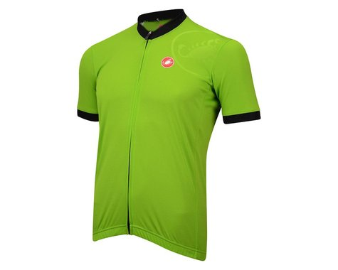Castelli GPM Short Sleeve Jersey - Performance Exclusive (Green)