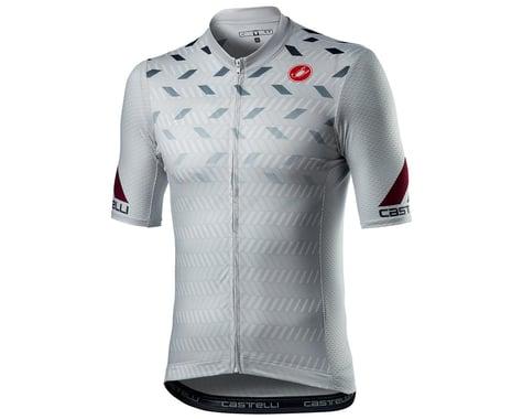 Castelli Avanti Short Sleeve Jersey (Silver Grey) (M)