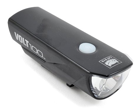 CatEye Volt 100 Rechargeable Bike Headlight (Chrome Black)