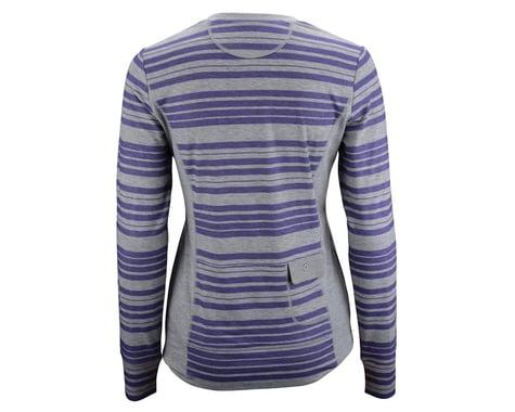 CHCB Women's Haley Henley Long Sleeve Jersey (Purple)