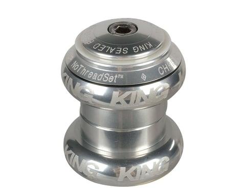 Chris King NoThreadSet Headset (Silver Sotto Voce) (EC30/25.4) (EC30/26)