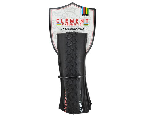 Clement Crusade PDX CX Tire (Black) (Folding Bead)