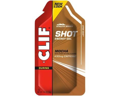 Clif Bar Shot Energy Gel (Mocha w/Caffeine) (24 | 1.2oz Packets)