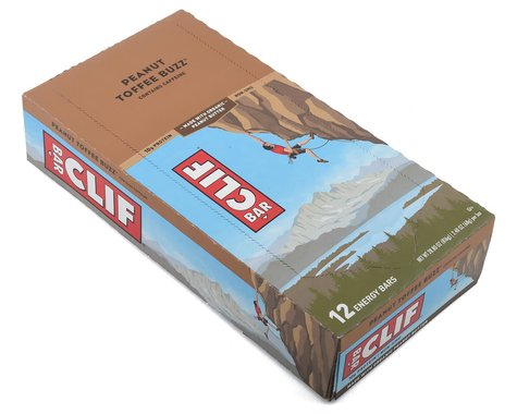 Clif Bar Original (Peanut Toffee Buzz) (w/ Caffeine) (12 | 2.4oz Packets)
