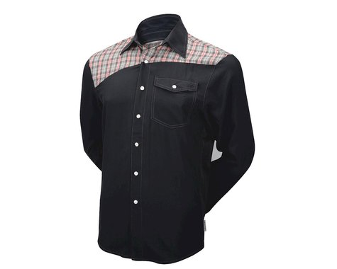 Club Ride Apparel Go Long Long Sleeve Jersey (Black)
