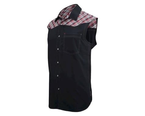 Club Ride Apparel Billy Bob Sleeveless Jersey (Red/Black)