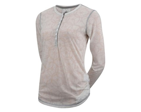 Club Ride Apparel Women's Wheel Clever Long Sleeve Jersey (White)