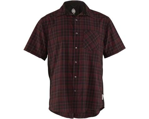 Club Ride Apparel Detour Short Sleeve Shirt (Merlot) (M)