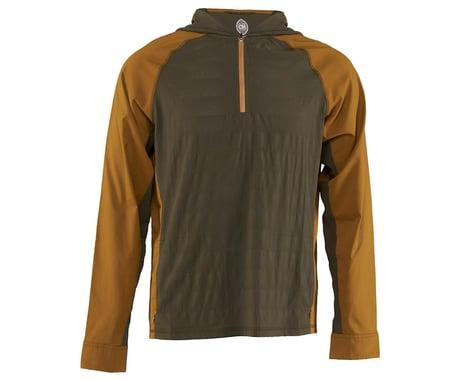 Club Ride Apparel Men's Helios Sun Shirt (Dusty Olive/Tapenade) (XL)